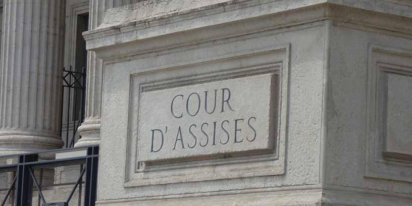Cour d'assises illustration