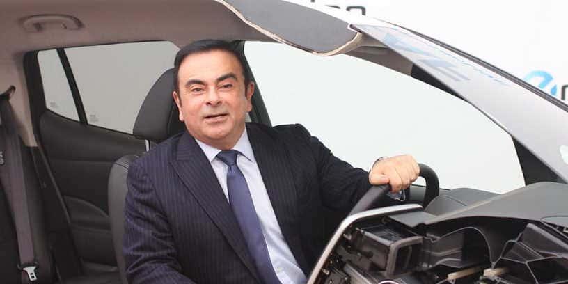 Carlos Ghosn en 2013