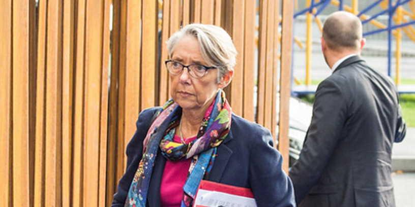 Elisabeth Borne, Ministre de la transition écologique et sociale, en charge des transports