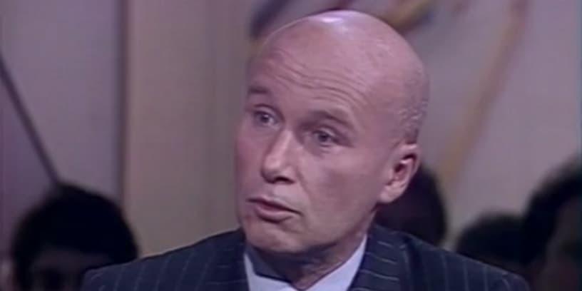 Gabriel Matzneff en mars 1990