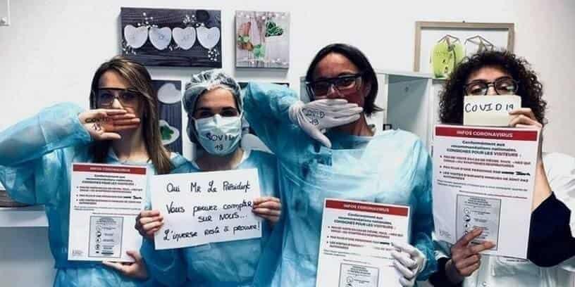 Du personnel soignants de l'Institut de cancérologie de l'Ouest