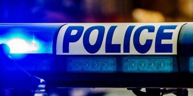 Un gyrophare de la police