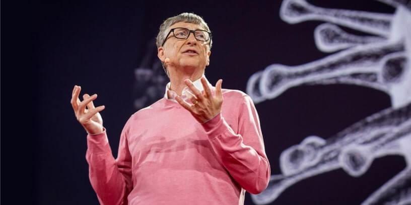 Bill Gates en mars 2015, lors d'une conférence TED