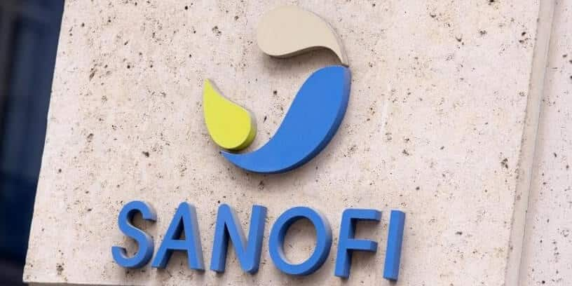 Le logo du laboratoire français Sanofi
