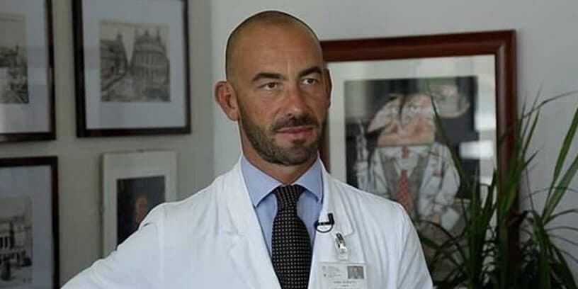 Le professeur Matteo Bassetti