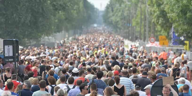 Nous serons 8,8 milliards d'humains en 2100, moins qu'estimé par l'ONU